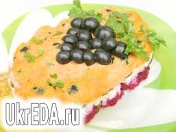 Салат «Гроно винограду»
