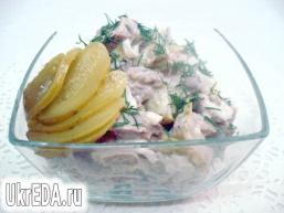 Салат з язика