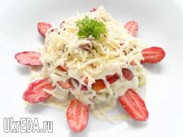 Салат з курки і полуниці