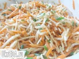 Салат з моркви і селери