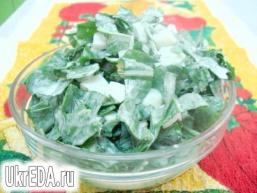 Салат із щавлю