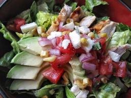 Салат з курятиною і чіпотле