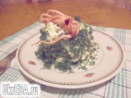 Салат з морським коктейлем