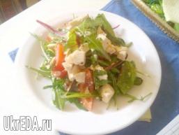 Салатний MIX з сиром тофу