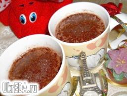 Шоколадне какао-молоко
