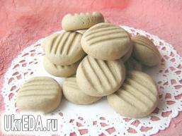 Шоколадне печиво на згущеному молоці