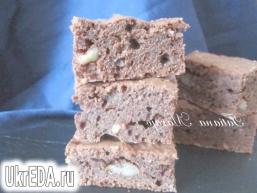 Шоколадні Брауні з горіхами