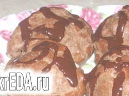 Шоколадні еклери