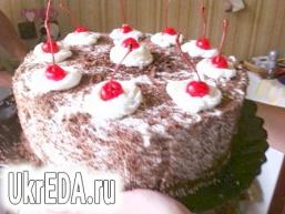 """Шварцвальдський вишневий торт (""""Чорний ліс"""")"""