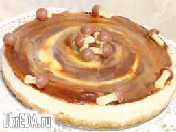 Вершковий тарт з карамеллю