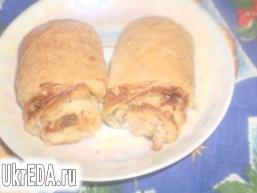 Листкові булочки з сиром