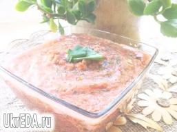 Соус з помідорів та часнику
