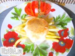 Стручкова квасоля з сиром моцарелла