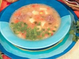 Суп з баранини з крупою