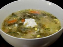 Суп з щавлю