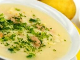 Суп-пюре з качки