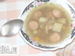Суп з сочевицею