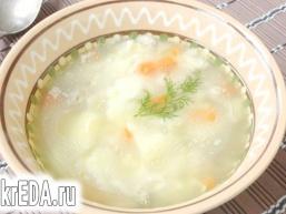 Суп з «грудочками»