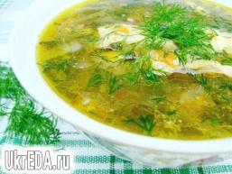 Суп зі щавлем «Зелений»