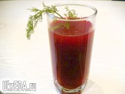 Буряковий напій, що очищає організм