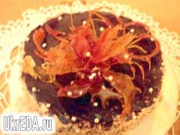 Торт «Янтарний квітка»