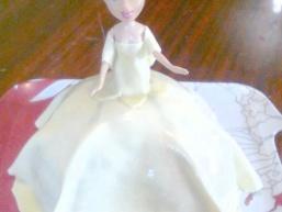 """Торт """"Лялька""""."""