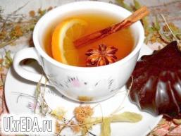 """Трав'яний чай """"Здоров'я"""" з імбиром і корицею"""