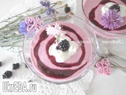 Сирно-ягідний десерт