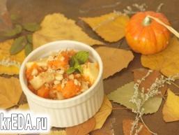 Гарбузово-яблучний десерт в духовці