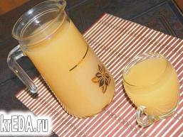 Гарбузово-яблучний напій
