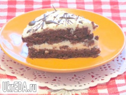 Смачний шоколадний торт