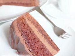 Повітряний шоколадний торт
