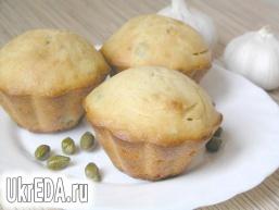 Закусочні кекси з каперсами