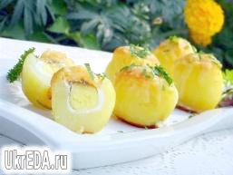 """Запечена картопля """"Сюрприз"""""""