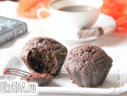 Заварні шоколадні кекси