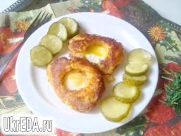 Сніданок з перепелиних яєць.
