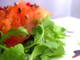 Карпаччо з лосося