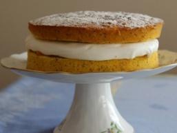 Лимонно-маковий торт