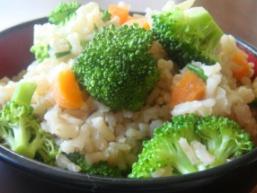Рис з овочами в мультиварці