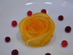 Роза з апельсина