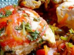 Риба по-марокканські