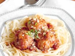 Спагетті з тюфтельками
