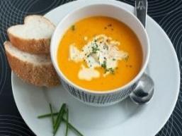 Гарбузова суп-пюре з майораном