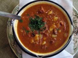 Циганський Гостра суп