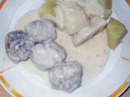 Котлети під сирним соусом