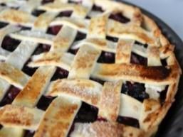 Пісочний пиріг з ягодами