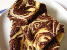 Пиріг шоколадно-сирний