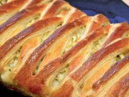 Плетений пиріг з капустою