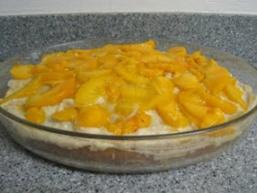 Пісний фруктовий торт
