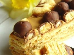 Простий пісочний торт
